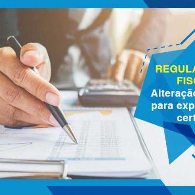 Regularidade Fiscal: Alteração na regra para expedição de certidão